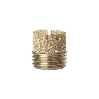 Sinterbronce-Schalldämpfer, Schlitz, G 1/4, max. 10 bar