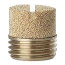 Sinterbronce-Schalldämpfer, Schlitz, G 1/2, max. 10 bar