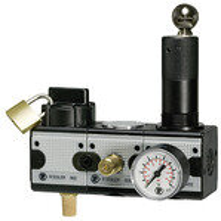 Wartungsstation SAFETY multifix, KH-AV-DR, BG 5, G 1, 2-10 bar