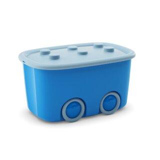 Funny Box - 580x385x320mm-46 Liter - blau/hellblau