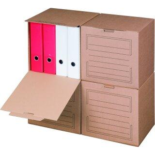 Archivbox, 297x334x330mm, braun, 5er