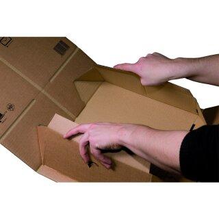 SBP-PACKBOX A5+, 230x166x90mm, sk m. Aufreißfaden, braun, portoopt., VE 20 Stück
