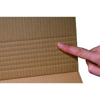Buchverpackung. braun CD, 147x129mm, 25 geb