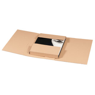 Twist-Buchverpackung A4, 330x240x80mm, VE 25